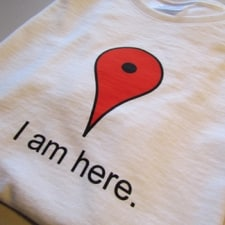 San Diego Print Shop - CUSTOM T-SHIRT PRINTING - I-am-here-T-shirt